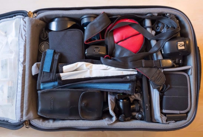 Richard Washbrooke's Airport International gear fit