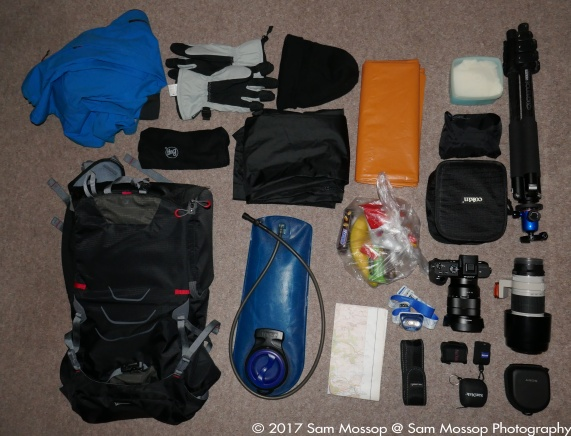 2 - Gear next to bag (1)